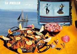 CPM - LA PAELLA - Recettes (cuisine)