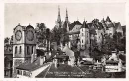 NEUCHÂTEL - Tour De Diesse - Château Et Collégiale - NE Neuchâtel
