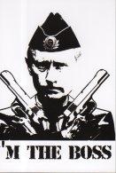 5358 - Vladimir Poutine Avec Des Révolvers- I'm The Boss ! (Putin, Russie) - Personnages