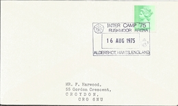 J) 1975 GREAT BRITAIN, QUEEN ELIZABETH II, SCOUT CANCELLATION, CIRCULATED COVER, INTERIOR MAIL WITHIN TO ENGLAND - 1952-.... (Elizabeth II)
