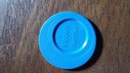 Jeton De Caddie METRO   Magasin  (bleu Roi Comme La Couleur Du Bandeau Du Site ) - Trolley Token/Shopping Trolley Chip