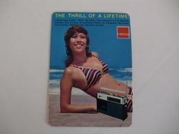 Sharp Sexy Girl Japan Pocket Calendar 1972 - Calendars