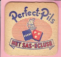 Bierviltje - Perfect-Pils - HET SAS-ECLUSE - Beer Mats