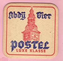 Bierviltje - Abdij Bier Postel - Luxe Klasse - Beer Mats