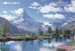 Carte Japon - Suisse / Montagne Matterhorn - Berg Landschaft Schweiz - Japan Card Switzerland - Site 194 - Montagnes