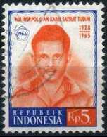 INDONESIA - 1964, Mi. 557 O, Victim Of The Coup, Police Inspector   Kravel Satuit Tubun. - Indonésie