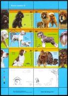 Argentina - 2006 - Races De Chiens - Caniche- ChowChow- Dogo Arg.- Schnauzer Mini- Springer Spaniel- Yorkshire Terrier - Perros