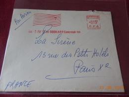 Lettre Du Cameroun Francais De 1953 Avec EMA - Cameroun (1915-1959)