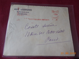 Lettre Du Maroc Francais  Avec EMA - Maroc (1891-1956)