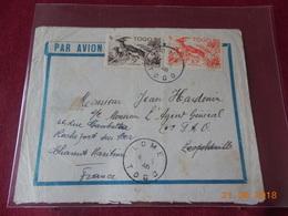Lettre Du Togo De 1948 A Destination De Congo Belge Puis De La France - Lettres & Documents
