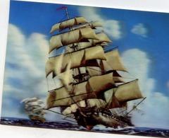 "VOILIER ""ENGLISH SAILING  VESSEL"" HOLOGRAMME 3 D RELIEF - Sailing Vessels"