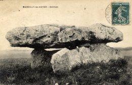 10 MARCILLY-LE-HAYER - Dolmen - Marcilly