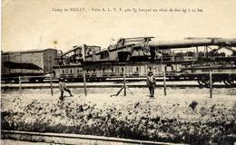10 MAILLY-LE-CAMP - Pièce A.L.V.F. 420 M/m Lançant Un Obus De 800 Kg à 22 Km - Mailly-le-Camp