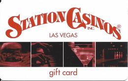 Station Casinos - Las Vegas NV - Gift Card (no Value) - Gift Cards