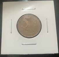 LSJP BRAZIL COIN 5 CENTS 2008 LOW SHOT - Brazil
