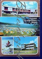 8-1028 CZECHOSLOVAKIA 1979 Greeting From Zemplinska Sirava Michalovce District Dam Lake Recreation Area Kamenec Campsite - Gruss Aus.../ Grüsse Aus...