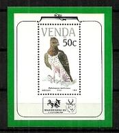 Venda - 1989 Endangered Birds Philatelic Foundation MS MNH - Venda