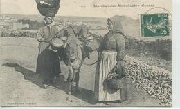 -2B - CORSE  -  ILE ROUSSE - Marchandes  Ambulantes           Collection  J.Moretti,Corte - France