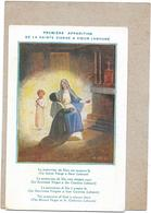 ILLUSTRATEUR  A DESC - CPA  COLORISEE -  Première Apparition De La Vierge à Soeur LABOURE - BORD** - - Otros Ilustradores