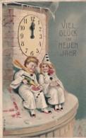 Carte N° 18 En Relief Viel Glück Im Neuen Jahr - Nouvel An