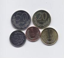 ALBANIA 5 HIGH GRADE 2000 - 2016 COINS SET: 1 TO 50 LEKE - Albania