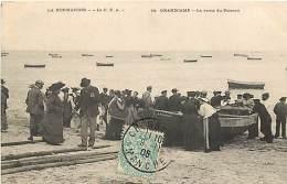 50 , GRANDCAMP , Vente Du Poisson ,* 197 25 - Francia