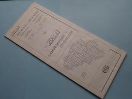 LAMPERNISSE - DIKSMUIDE 19/3-4 ( M834 ) Uitgave 2 Anno 1983 - Schaal / Echelle / Scale 1: 25.000 ( Zie Foto's ) ! - Cartes Géographiques