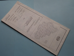 KORTEMARK - TORHOUT 20/3-4 ( M834 ) Uitgave 2 Anno 1983 - Schaal / Echelle / Scale 1: 25.000 ( Zie Foto's ) ! - Cartes Géographiques
