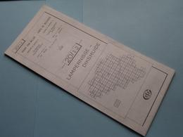 LAMPERNISSE-DIKSMUIDE 20/1-2 ( M834 ) Uitgave 2 Anno 1983 - Schaal / Echelle / Scale 1: 25.000 ( Zie Foto's ) ! - Landkarten