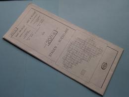 STADEN - ROESELARE 20/7-8 ( M834 ) Uitgave 2 Anno 1982 - Schaal / Echelle / Scale 1: 25.000 ( Zie Foto's ) ! - Cartes Géographiques