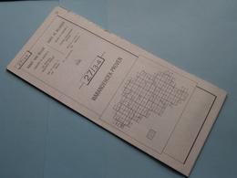 WARANDEHOEK - PROVEN 27/3-4 ( M834 ) Uitgave 2 Anno 1977 - Schaal / Echelle / Scale 1: 25.000 ( Zie Foto's ) ! - Mapas Geográficas