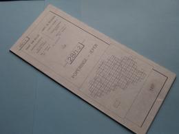 POPERINGE - IEPER 28/1-2 ( M834 ) Uitgave 2 Anno 1977 - Schaal / Echelle / Scale 1: 25.000 ( Zie Foto's ) ! - Cartes Géographiques