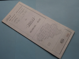 NIEUWKERKE - MESEN 28/5-6 ( M834 ) Uitgave 2 Anno 1977 - Schaal / Echelle / Scale 1: 25.000 ( Zie Foto's ) ! - Cartes Géographiques