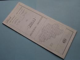 MOUSCRON - ZWEVEGEM 29/5-6 ( M834 ) Uitgave 2 Anno 1978 - Schaal / Echelle / Scale 1: 25.000 ( Zie Foto's ) ! - Cartes Géographiques