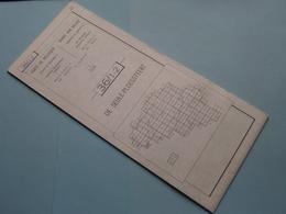 DE SEULE-PLOEGSTEERT 36/1-2 ( M834 ) Uitgave 2 Anno 1977 - Schaal / Echelle / Scale 1: 25.000 ( Zie Foto's ) ! - Geographical Maps