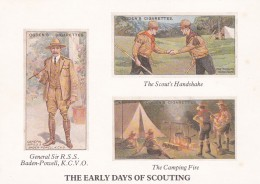 THEE EARLY DAYS OF SCOUTING . MODERN - Other