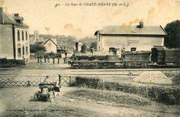 CHAZE HENRY(GARE) TRAIN - France