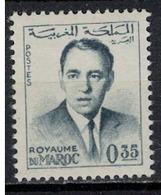 MAROC       N°  YVERT  441  A   NEUF AVEC CHARNIERE      ( Char 4/B ) - Marruecos (1956-...)