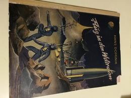 OLD ORIGINAL TRADING CARDS ALBUM VINTAGE SCIENCE FICTION FLUG IN DEN WELTRAUM . HANS DOMENIK - Albums & Catalogues