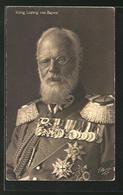 AK König Ludwig III. Von Bayern In Uniform - Royal Families