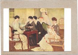 MUSEE DU LUXEMBOURG - Ma Femme Et Ses Sœurs Par Henry CARO-DELVAILLE - ROUIL1/BORD - - Musei