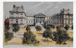 AMIENS - N° 40 - LE PALAIS DE JUSTICE - LEGER PLI EN DIAGONAL - CPA NON VOYAGEE - Amiens