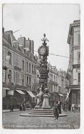 AMIENS - N° 481 - L' HORLOGE DE LA PLACE GAMBETTA AVEC PERSONNAGES - CPA VOYAGEE - Amiens