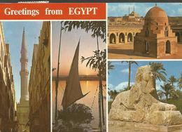 EGYPT CAIRO, PC , Circulated - Singapour