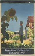 Reichsbahn-Kalender 1934 - Vollständiges Exemplar - Herausgegeben Vom Pressedienst Der Deutschen Reichsbahn - Konkordia - Kalender