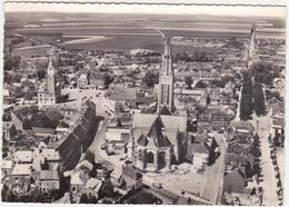 80 - ROYE (Somme) - Eglise St-Pierre - Vue Aérienne - 1968 - Roye