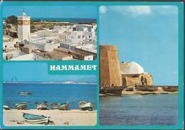 TUNISIA HAMMAMET, PC , Circulated - Tunesien