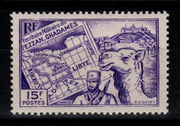 Fezzan - YV 38 N* - Unused Stamps