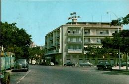 ! Ansichtskarte Luanda, Hotel Continental, Autos, Cars, Mercedes Benz, Afrika - Angola