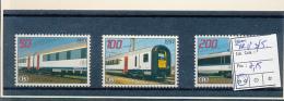 BELGIQUE 1939 ISSUE COB TRV3/5 MNH - Ferrovie